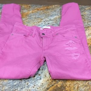 Pink Girl's Levi's Size 14R